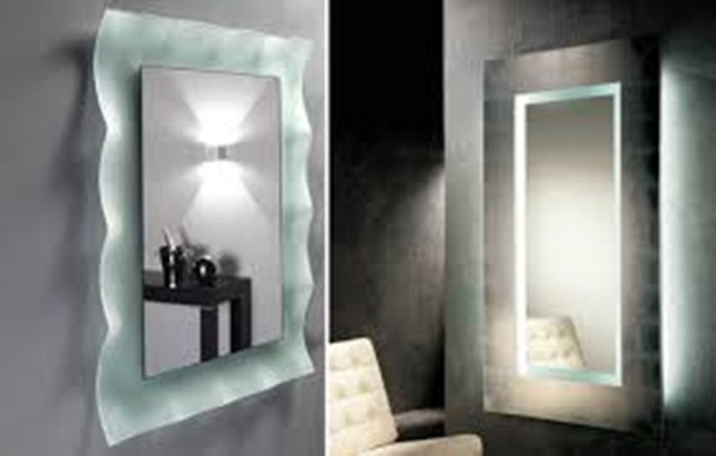 Lighted Bathroom Mirror with Lights