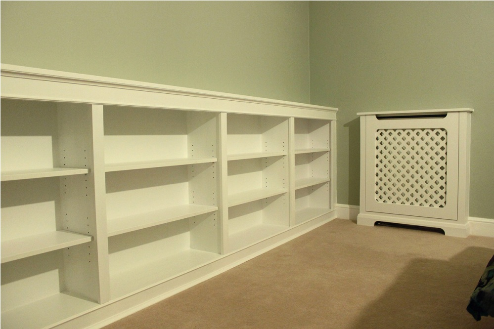 Image of: Low adjustable bookcase