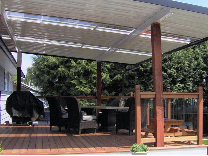 Image of: Marvelous Deck Covers for Shade Ideas