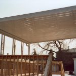 Metal Patio Awning Modern