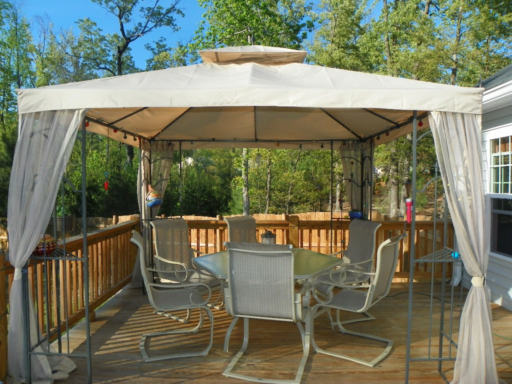 Metal Portable Gazebo for Deck