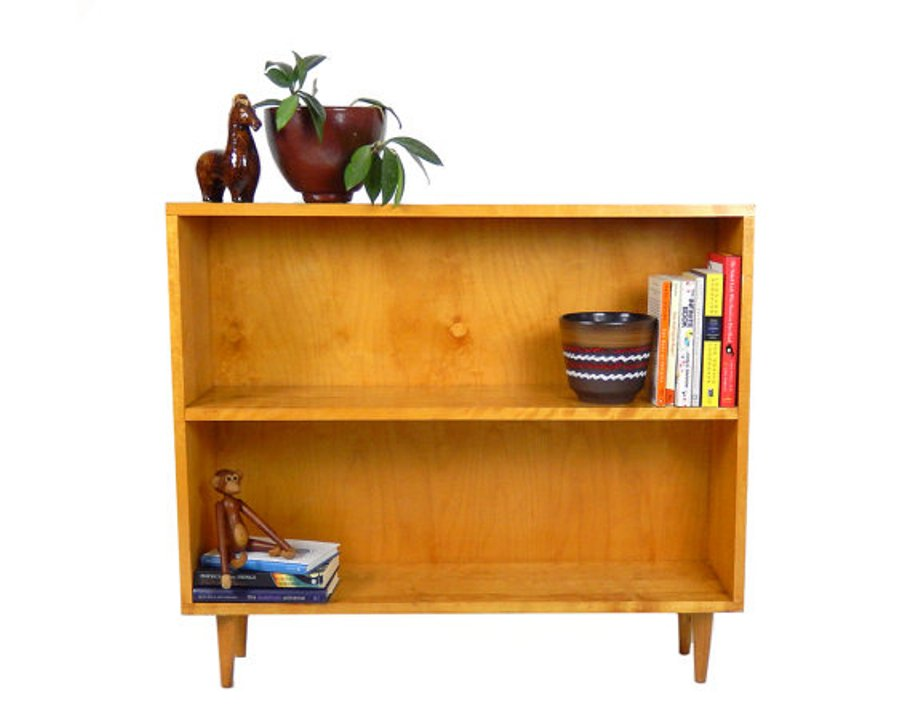 Image of: Mid century modern bookcase