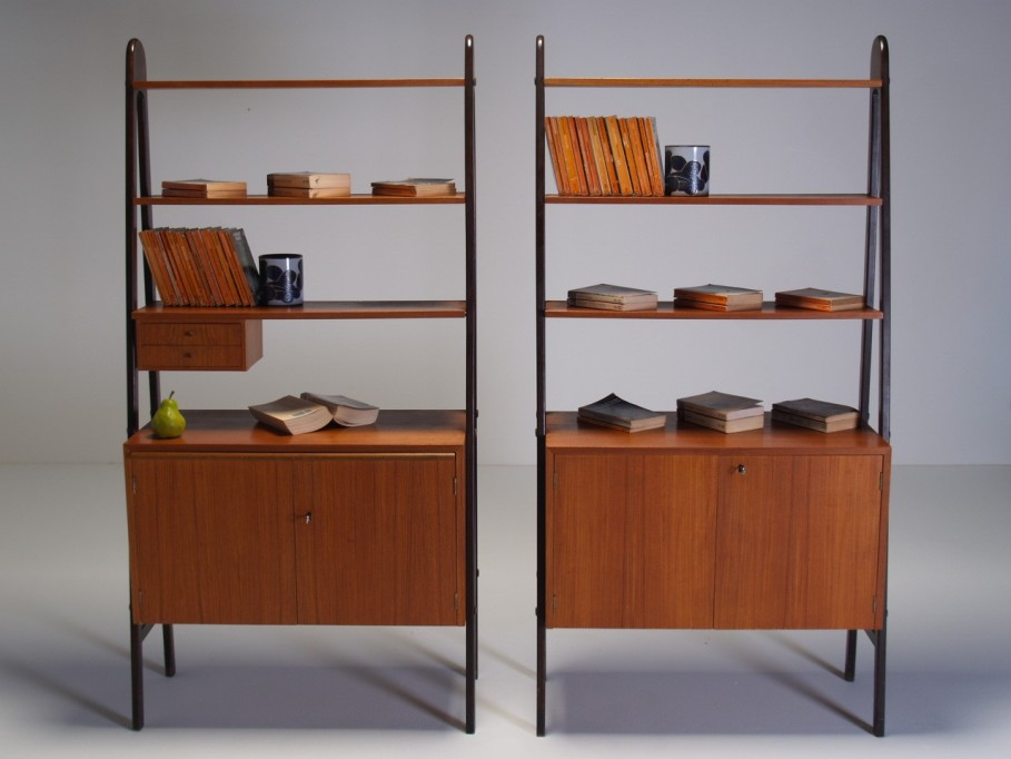 Image of: Mid century modern furniture bookcase
