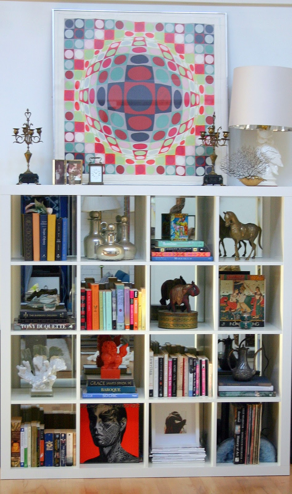 Image of: Mirrored Bookcase funny