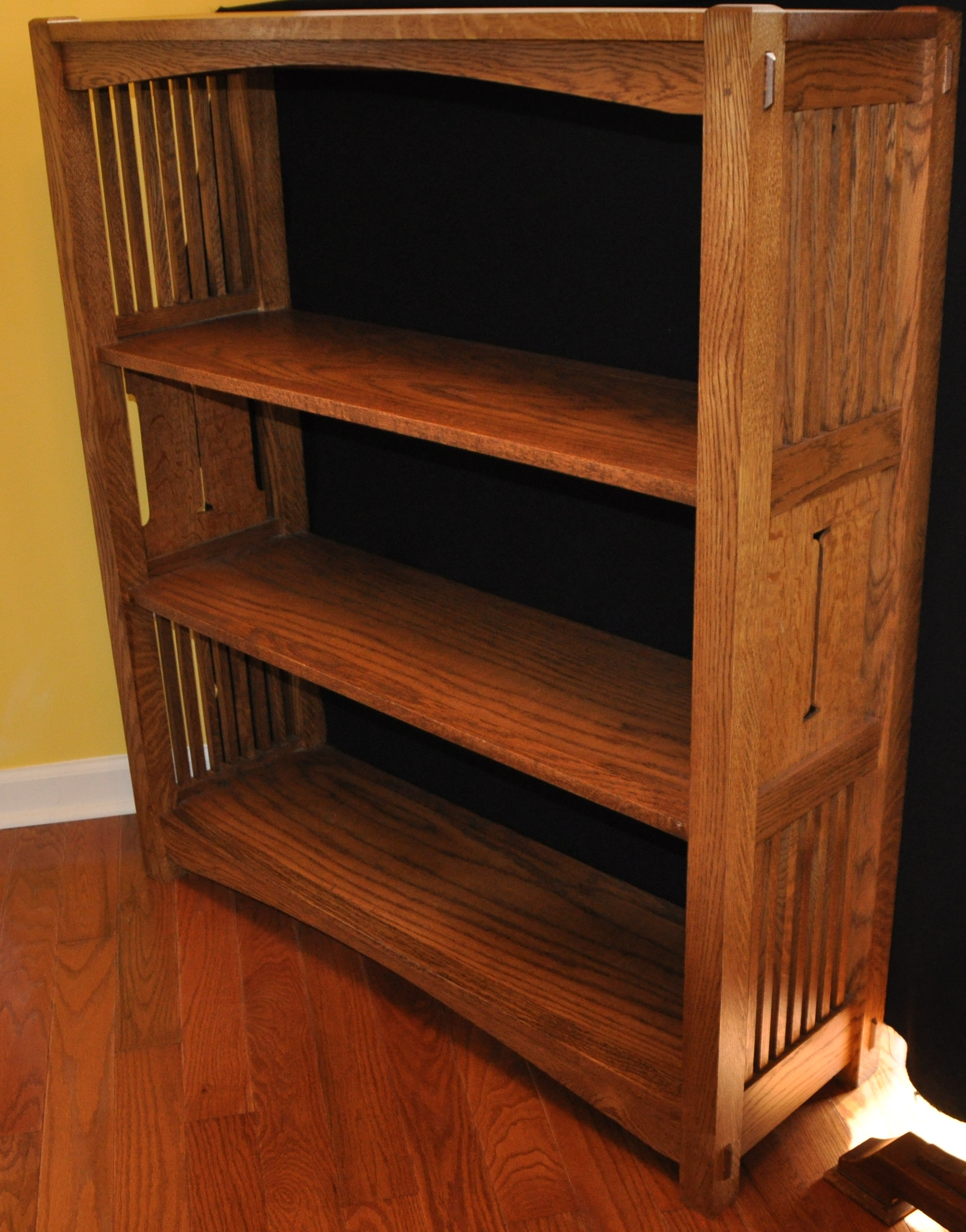 Image of: Mission Bookcase Designs