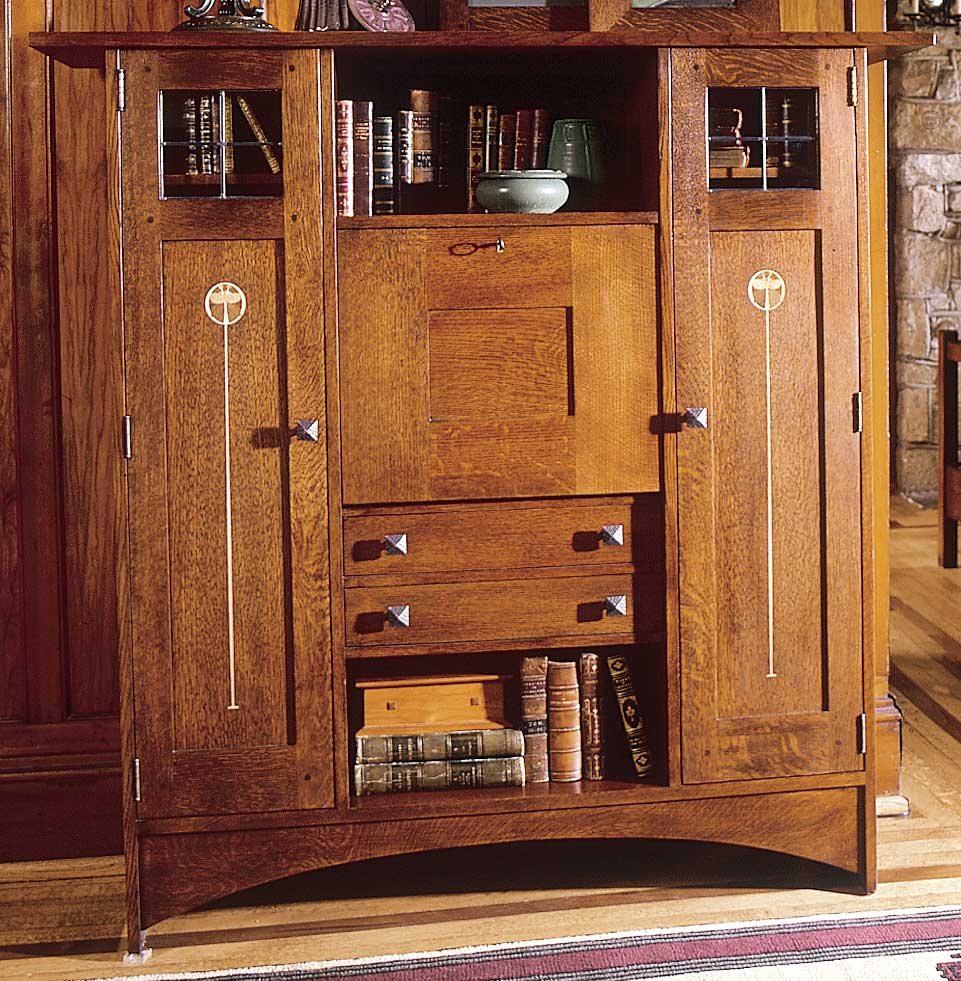 Image of: Mission Bookcase Furniture