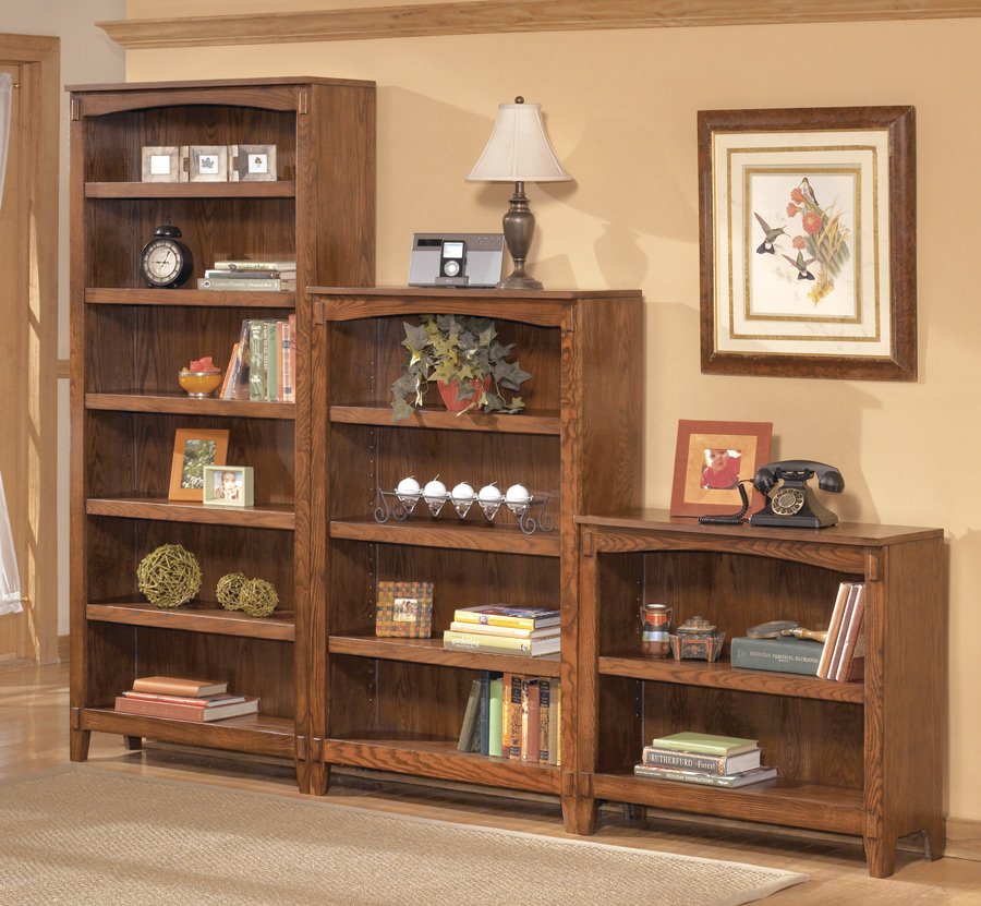 Image of: Mission Bookcase Style