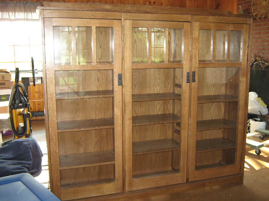 Image of: Mission Bookcase Type