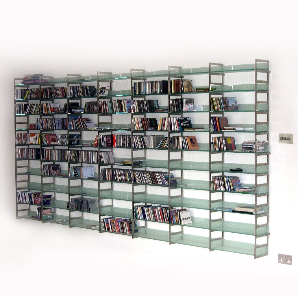 Model Steel Bookcase