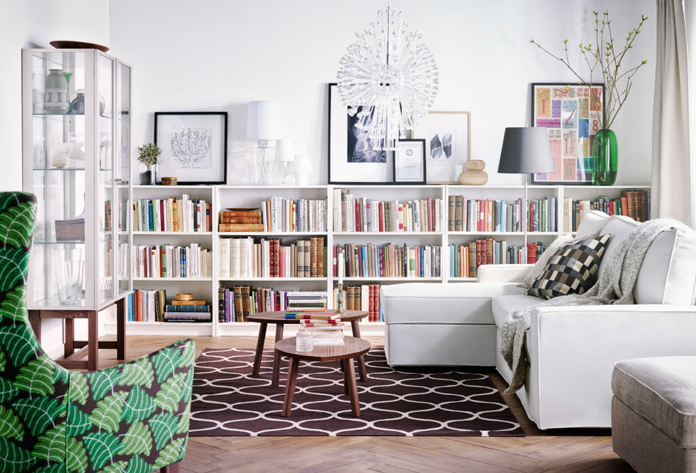 Image of: Modern Billy Bookcase