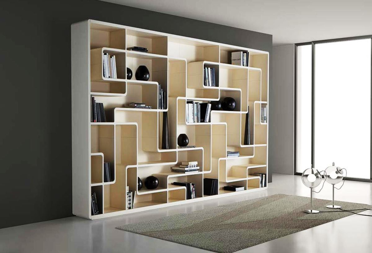 Image of: Modern Bookcase Plans