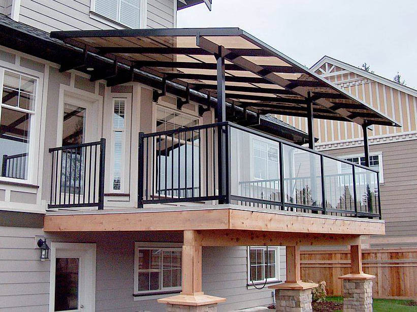 Image of: Modern Deck Covers for Shade