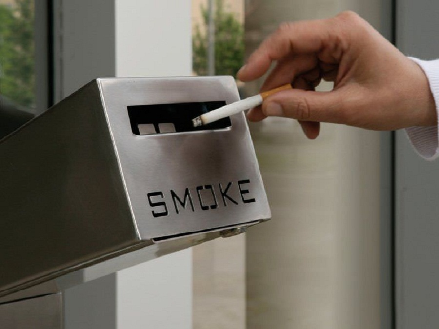 Image of: Modern Outdoor Ashtray