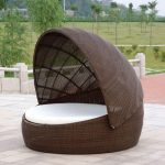 Modern Outdoor Daybed with Canopy