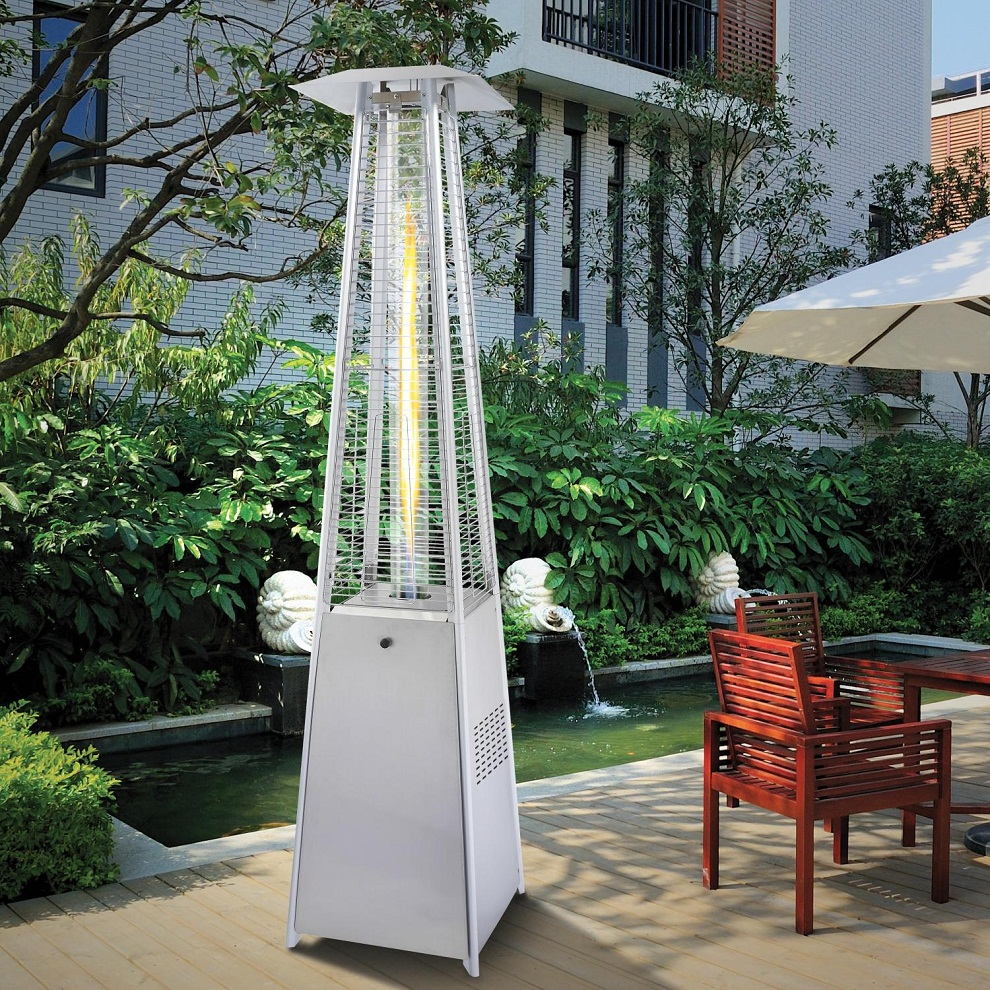 Image of: Modern Propane Patio Heater