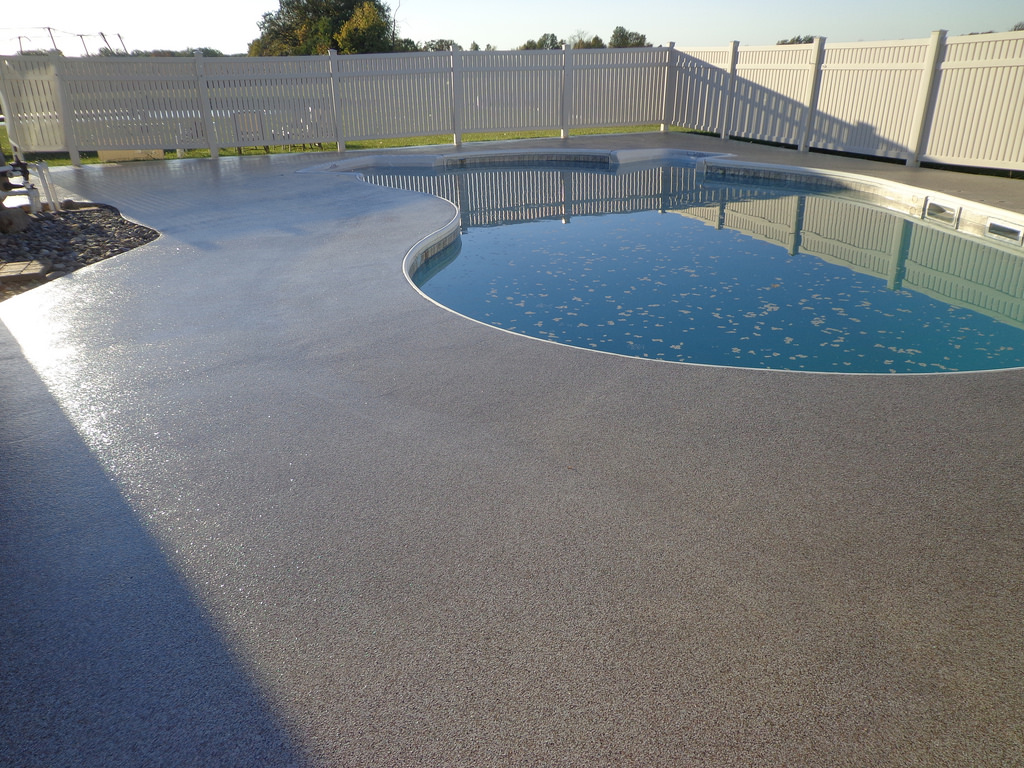 Image of: Modern Resurface Pool Deck
