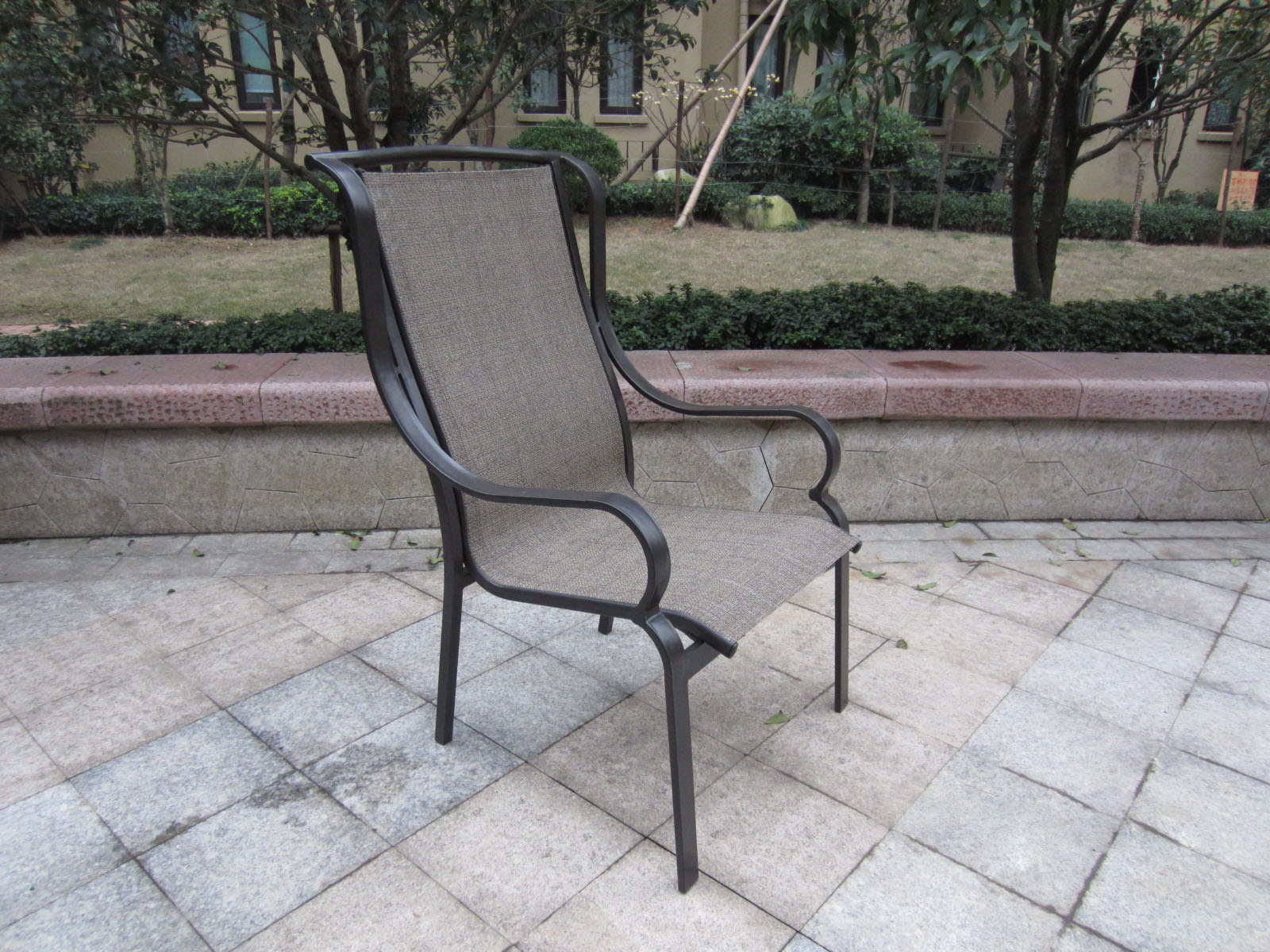 Image of: Modern Sling Patio Chairs