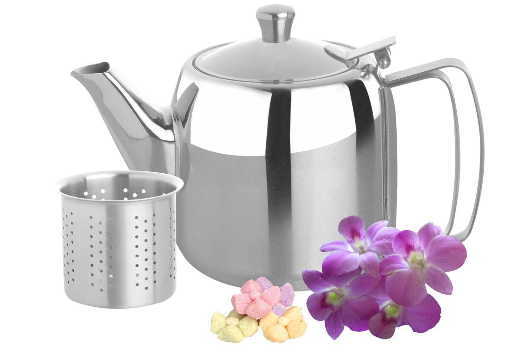 Image of: Modern Tea Kettle Stainless Steel