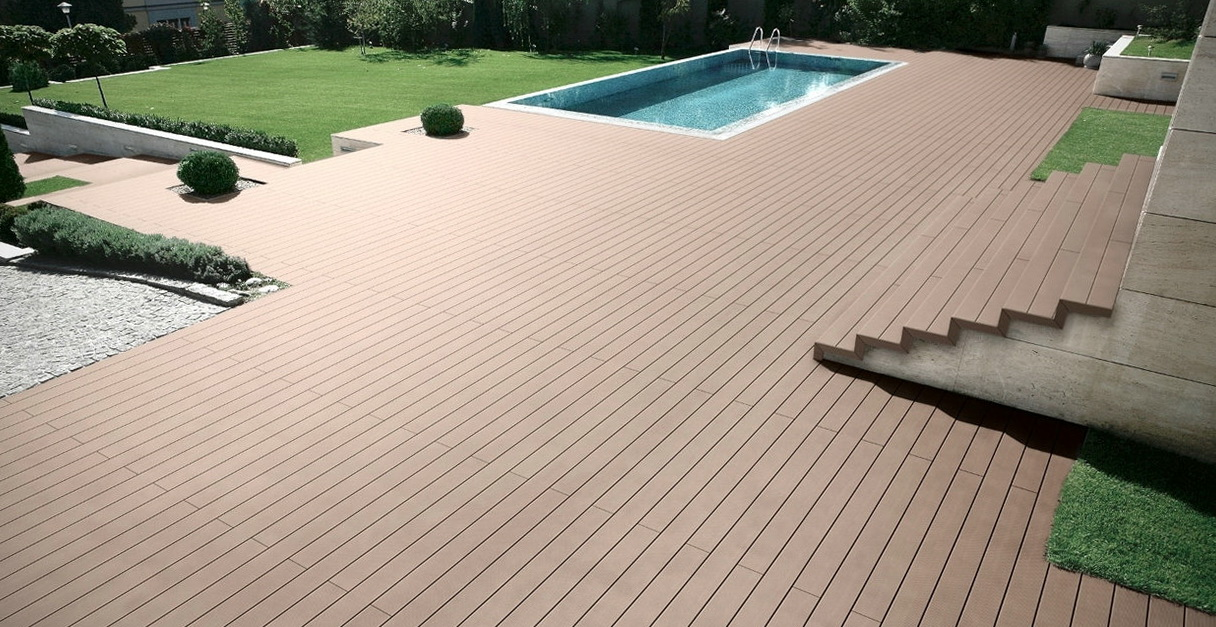 Modern Tongue and Groove Decking