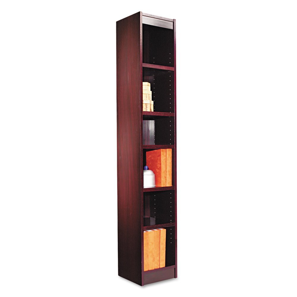 Image of: Modern narrow bookcase