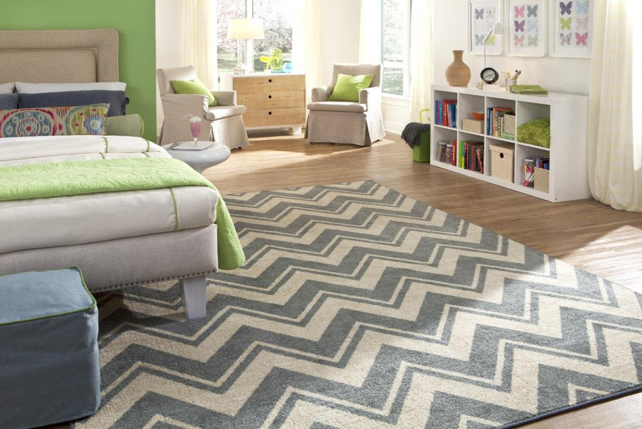 Image of: Mohawk Chevron Area Rug