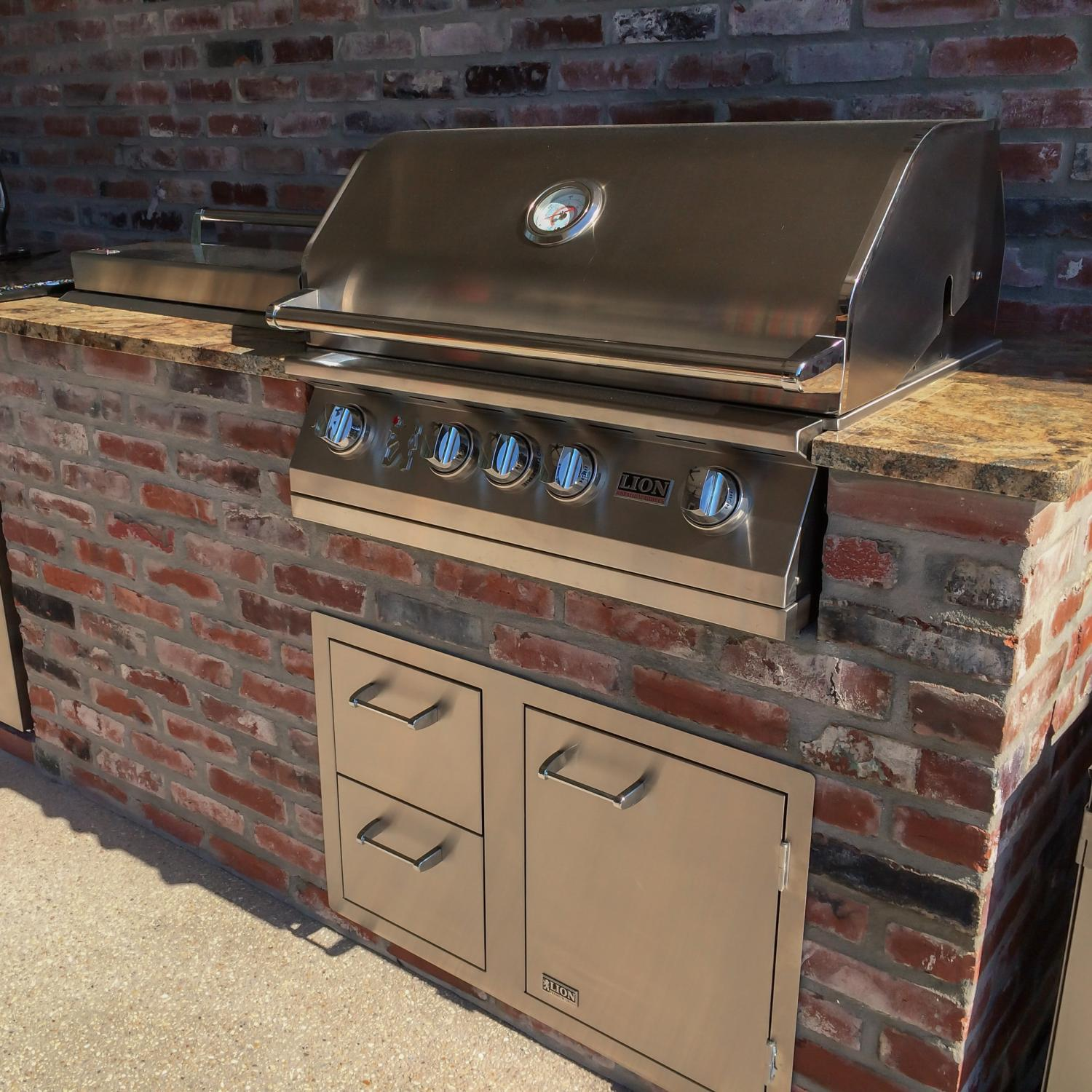 Image of: Natural Outdoor Griddle