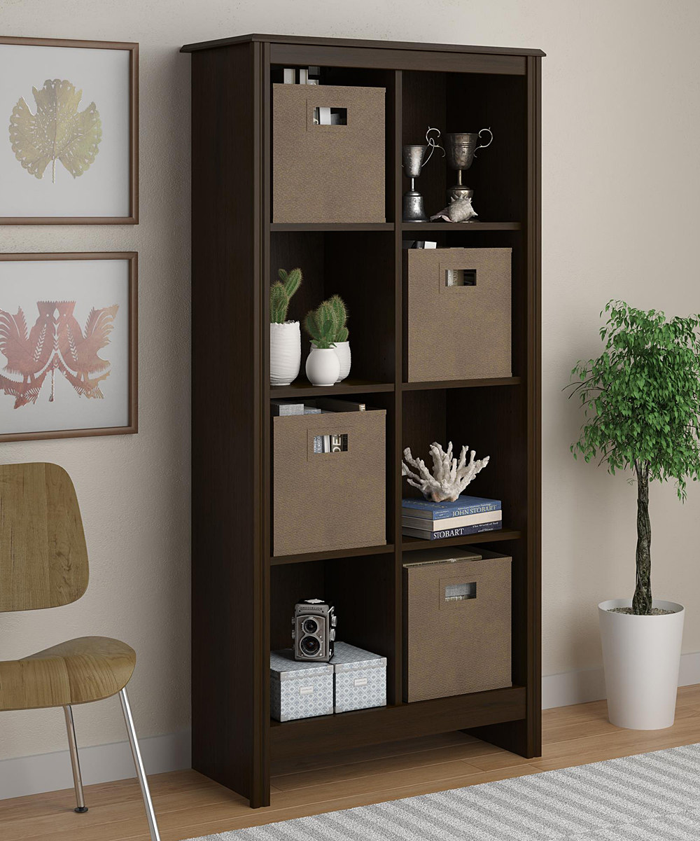 Image of: New Cubby Bookcase