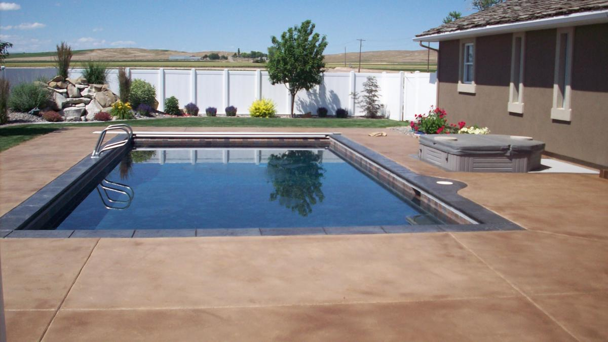 Image of: New Resurface Pool Deck