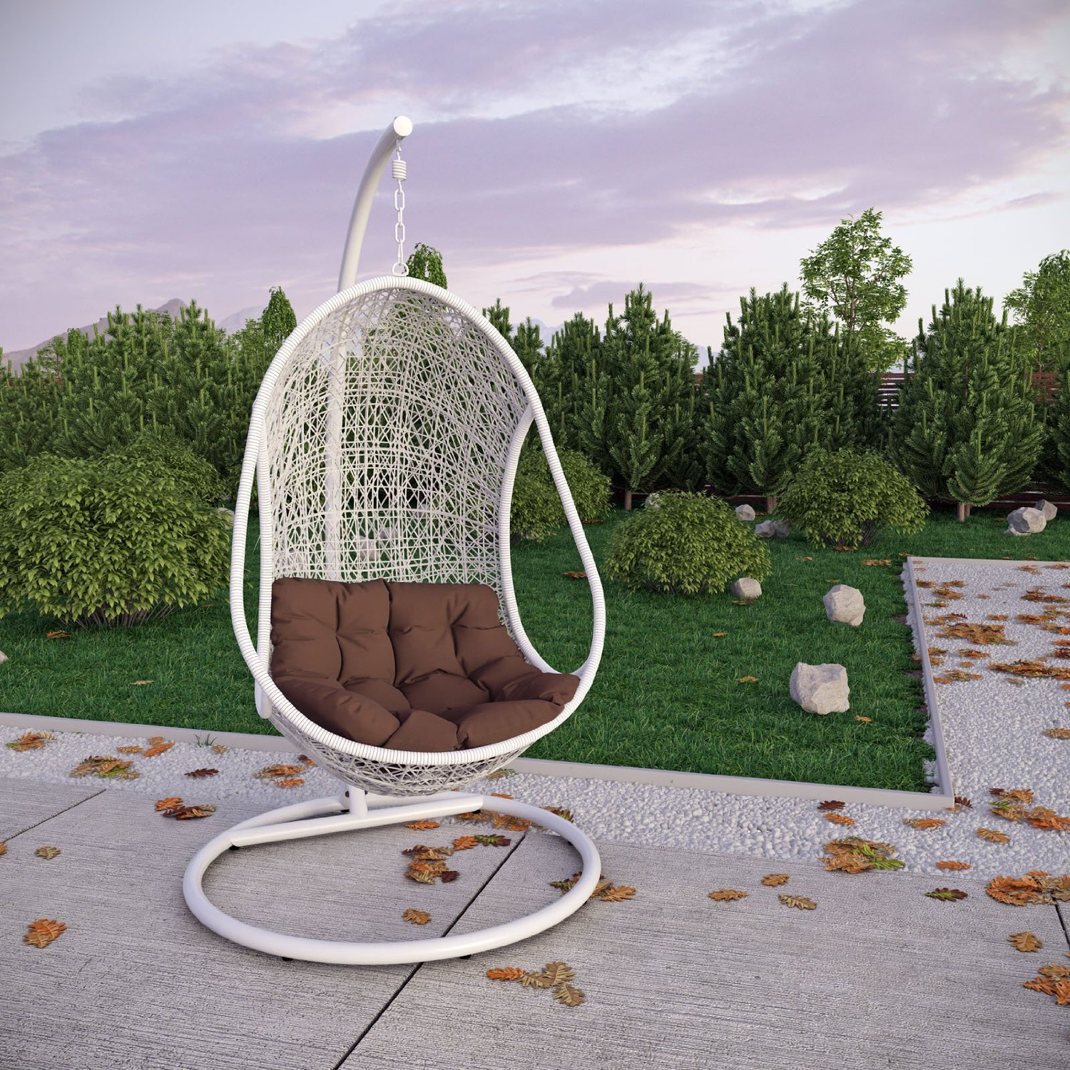 Image of: New Wicker Patio Chair