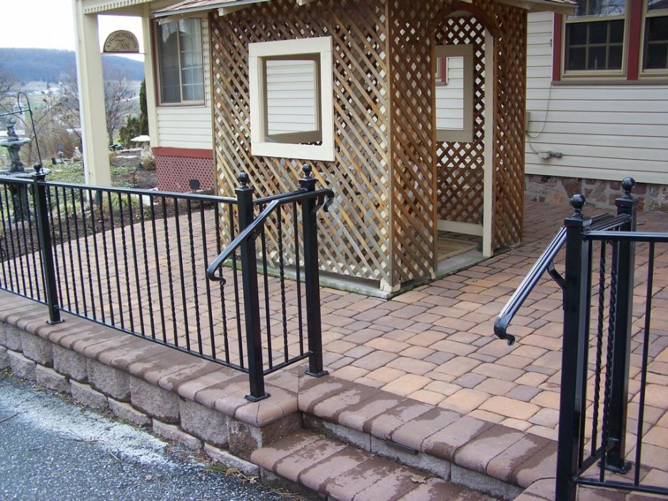 New Wrought Iron Deck Railing