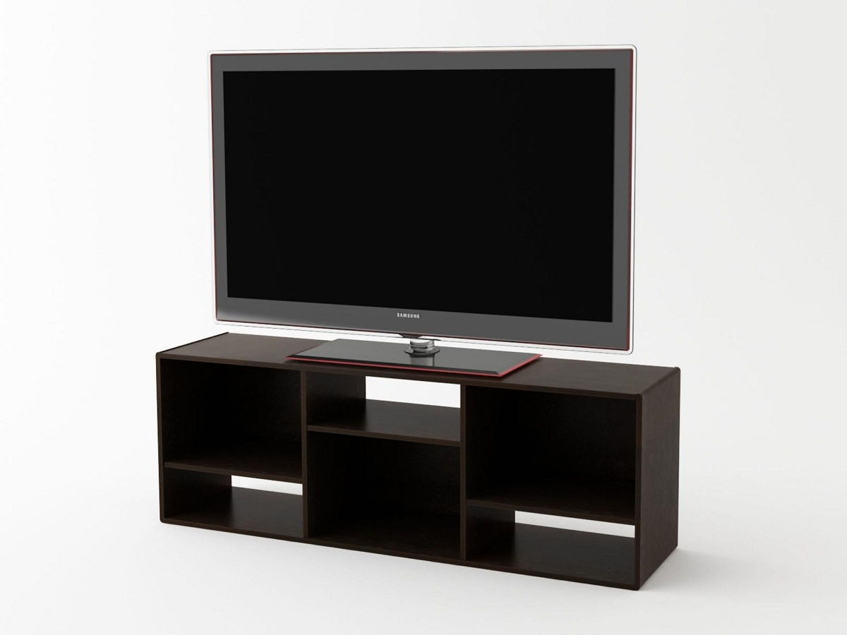 Image of: Nice Bookcase Tv Stand