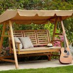 Nice Deck Swings with Canopy