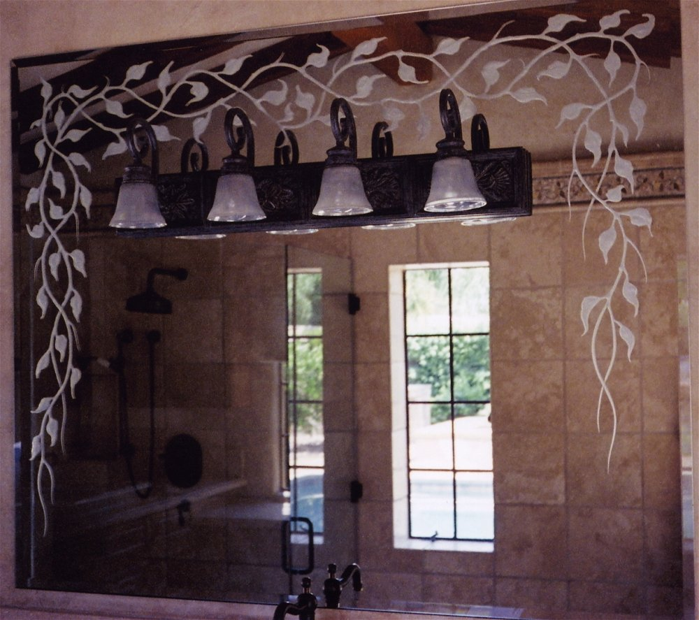 Image of: Nice Decorative Bathroom Mirrors Design