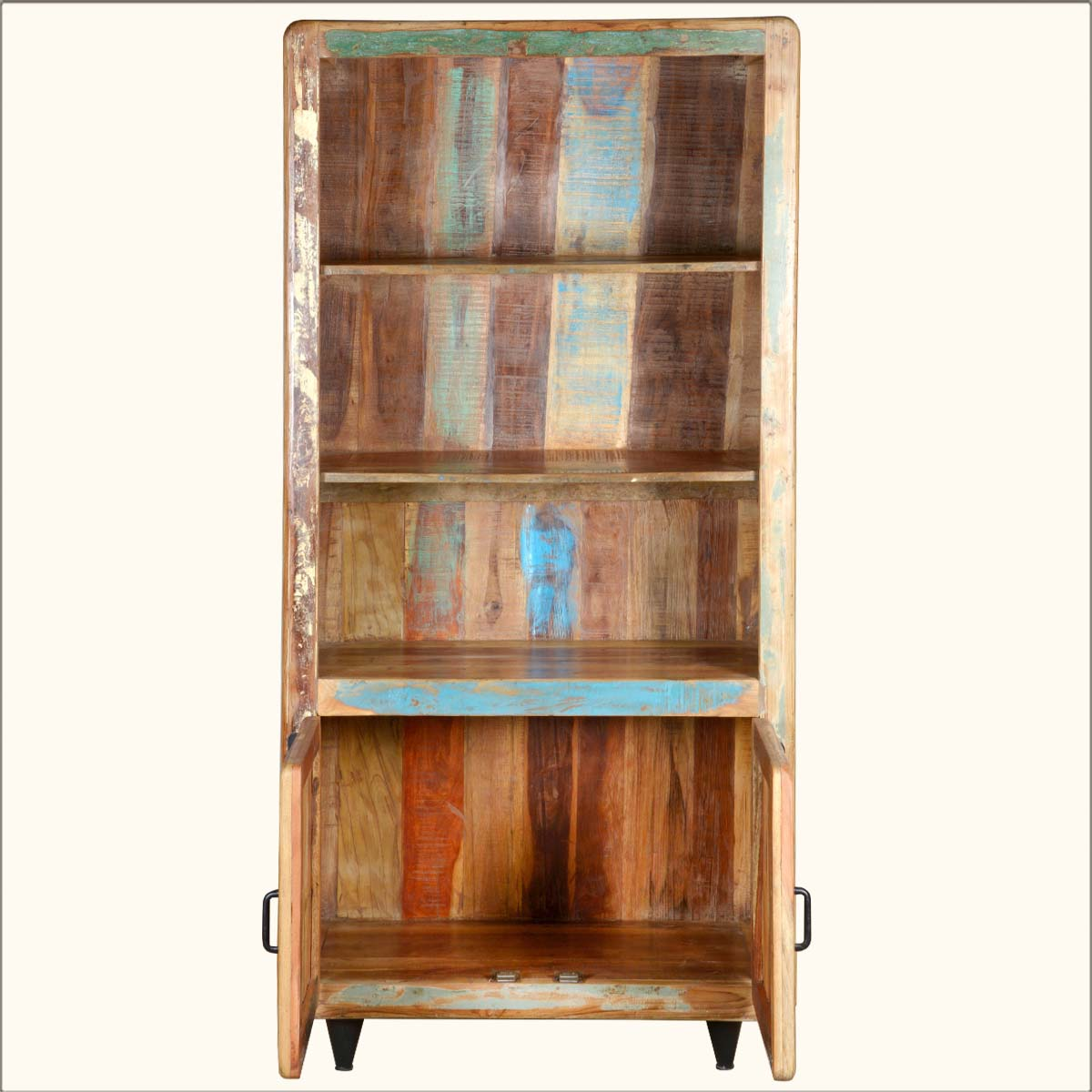Image of: Original Distressed Bookcase