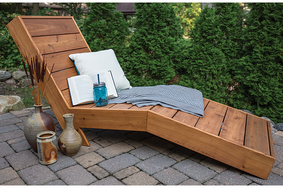 Image of: Outdoor Chaise Lounge Chair