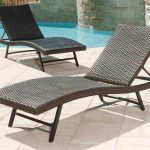 Outdoor Chaise Lounge Rattan