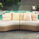 Outdoor Chaise Lounge Sofa