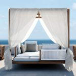 Outdoor Daybed with Canopy Style