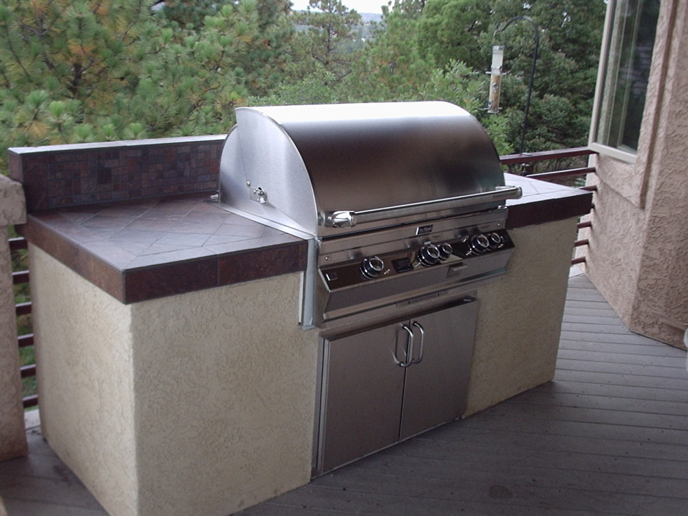 Image of: Outdoor Griddle Ideas