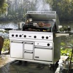 Outdoor Griddle Island