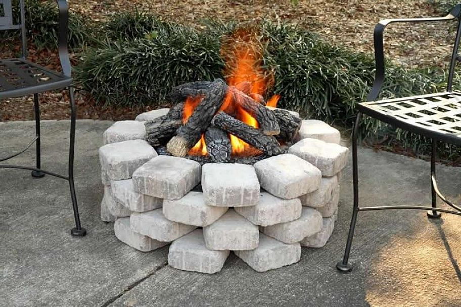 Image of: Outdoor Propane Fire Pit Ideas
