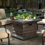 Outdoor Propane Fireplace Table