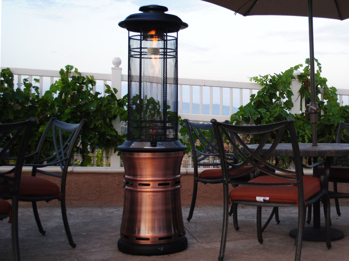 Image of: Outdoor Propane Heaters for Patio