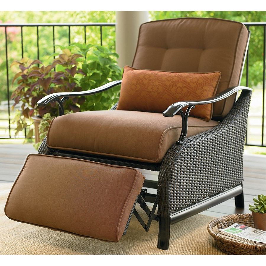 Image of: Outdoor Recliner Cushions
