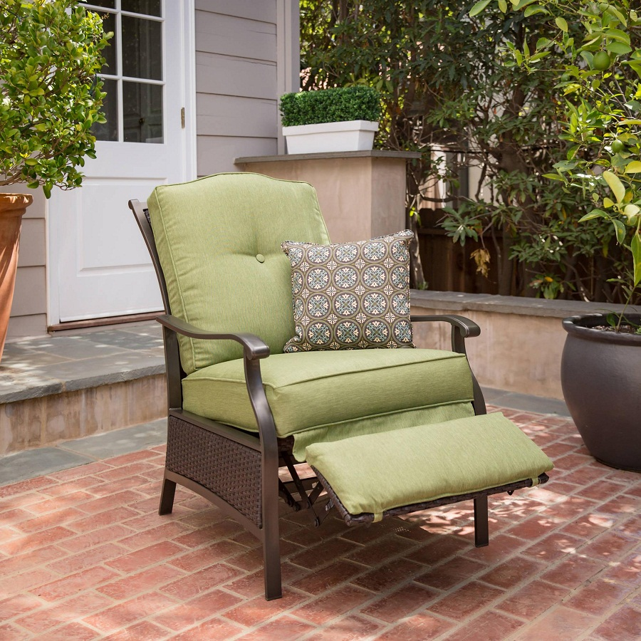 Image of: Outdoor Recliner Style