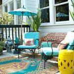 Last Outdoor Rugs for Patios Blue