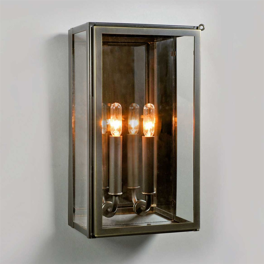 Image of: Outdoor Sconces Glass
