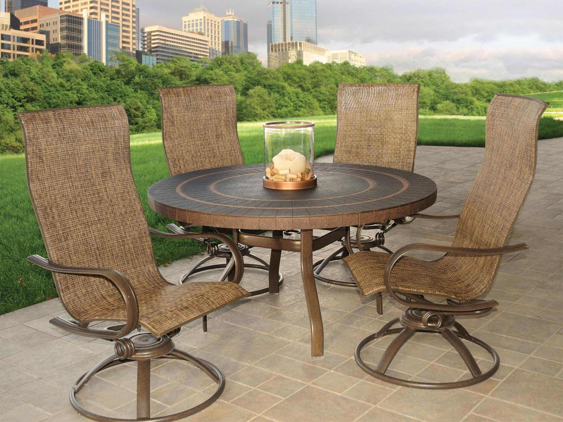 Image of: Outdoor Swivel Rockers Patio Furniture