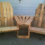 Pallet Patio Furniture Chairs