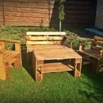 Pallet Patio Furniture Seating